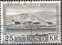 ICELAND #STAMPS FROM YEAR 1957 - Gebruikt