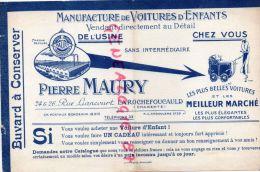16 - LA ROCHEFOUCAULD - BEAU BUVARD PIERRE MAURY 24-26 RUE LIANCOURT- MANUFACTURE VOITURES D' ENFANTS-POUSSETTE - Transport
