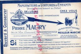 16 - LA ROCHEFOUCAULD - BEAU BUVARD PIERRE MAURY 24-26 RUE LIANCOURT- MANUFACTURE VOITURES D' ENFANTS-POUSSETTE - Transports