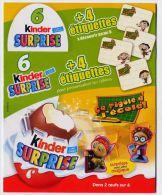 Emballage 6 Kinder Surprise - ça Rigole à L´école - Otros