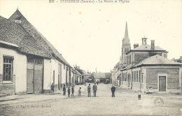 80 - ÉTINEHEM - Somme - La Mairie Et L´Eglise - France