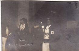 Photo Originale 1918 BUSIGNY (près Clary) - Le Château, Des Soeurs, Croix Rouge (A44, Ww1, Wk1) - France