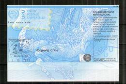 2795 IRC IAS CRI - International Reply Coupon - Antwortschein T36 Hongkong, Chine Gestempelt HK20130513AA - Hong Kong (1997-...)