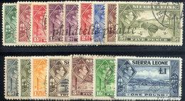 -Sierra Leone  158/71 Obl - Sierra Leona (1961-...)