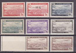 ALGERIE - YVERT N° 1/6 Avec RARE 4A ** - COTE = 270 EUROS - Algérie (1924-1962)