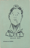 COB Willie Boy Burlesque Comics