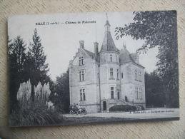FROM - 37 -  RILLE - CHATEAU DE MALCOMBE - Autres Communes