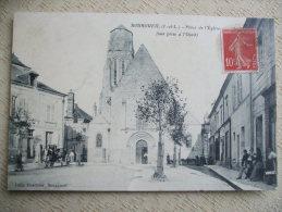 FROM - 37 -   BOURGUEIL PLACE DE L'EGLISE- (VUE PRISE A L'OUEST) - Other Municipalities