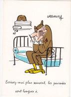 CP HUMOUR LASSALVY ECRIVEZ MOI... SERVICE MILITAIRE - Humour