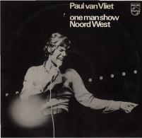 * 2LP *  PAUL VAN VLIET - ONE MAN SHOW NOORD WEST (Holland 1975 EX-!!!) - Humor, Cabaret
