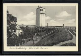 Germany - Brunsbuttelkoog Weisser Leuchtturm__(4451) - Brunsbuettel