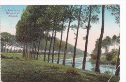 L´Yser Entre Nieuport Et Dixmude Feldpost 1917 (2) Schweres Korpsartillerie Rgt. 8 - Diksmuide