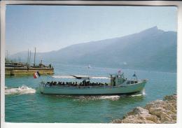 BATEAU DE PROMENADE - AIX LES BAINS 73 : Le Lac Du Bourget 74 - Boat Ships Boote Boten Barcos Barche ( Savoie ) - Barche