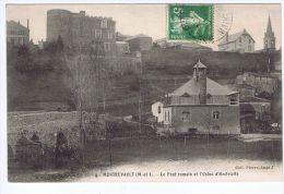 Montrevault  (49) , Le Pont Romain Et L´Usine D´électricité - Montrevault