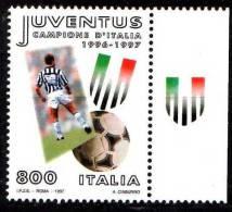 PIA -  ITALIA -  1997  : Campionato Italiano Di Calcio 1996-97 - Scudetto Alla Juventus Con Appendice-   (SAS  2288) - 6. 1946-.. Repubblica
