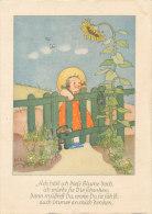 Kind / Hund / Sonnenblume (D-A18) - Fêtes - Voeux