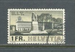 1938 SWITZERLAND B.I.T. , S.D.N. MICHEL: 324 USED - Gebraucht