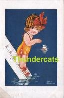 CPA ILLUSTRATEUR ENFANT ** FRED SPURGIN   ** ARTIST SIGNED CHILDREN CARD - Spurgin, Fred