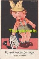 CPA ILLUSTRATEUR ENFANT ** GOUJEON GOUGEON ** ARTIST SIGNED CHILDREN CARD - Gougeon