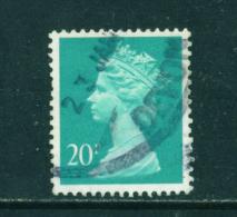 GREAT BRITAIN - 1971 To 1996  Machin  20p  Used As Scan - 1952-.... (Elizabeth II)