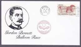 """Amérique - Enveloppe """"Coupe Gordon BENNETT"""" LONG BEACH -  22-26 MAY 1979 - Amérique Centrale"""