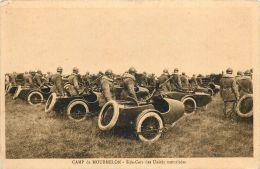 Réf : TO-13-1972 : Side-Car Des Unités Motorisées  (militaires)  (militaria) (motos) - Motorbikes