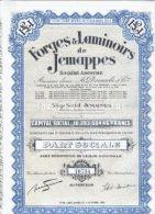 Forges & Laminoirs De Jemappes - Industrie