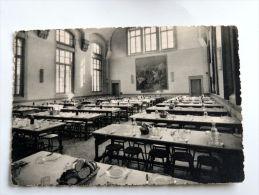 Carte Postale Ancienne : Ecole Du Service De Santé Militaire LYON : Grand Réfectoire - Altri