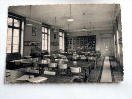 Carte Postale Ancienne : Ecole Du Service De Santé Militaire LYON : Salle De Lecture De La Bibliothèque - Altri