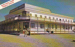 Canada Wainwright Hotel Heritage Park Calgary Alberta