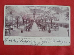 New Jersey  Atlantic City  -- American Garden 1904 Cancel --  Ref 1111 - Atlantic City
