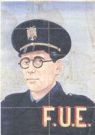 F.U.E. - LAMINA COMPLETA DE CUPONES DE RACIONAMIENTO AÑO 1942 COLMENAR MALAGA - Andere
