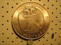 KINGDOM Of YUGOSLAVIA 50 Dinara - Yugoslavia