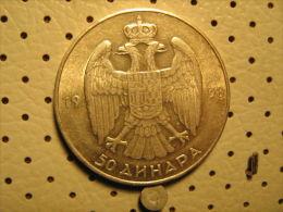 KINGDOM Of YUGOSLAVIA 50 Dinara 1938 - Yugoslavia