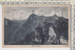 Lucca  Alpi Apuane  Pescaglia Palagnana Albergo Alto Matanna 1941 - Lucca