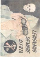 LEGIONARIO SIEMPRE ALERTA - NERVA HUELVA - AÑO 1940 LAMINA COMPLETA DE CUPONES DE RACIONAMIENTO - [ 3] 1936-1975: Franco