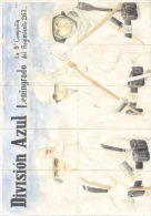 AÑO 1942 DIVISION AZUL LENINGRADO - LA NOVENA COMPAÑIA DEL REGIMIENTO 263 - ELCHE ALICANTE - [ 3] 1936-1975 : Regency Of Franco