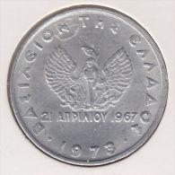 @Y@  Griekenland  20 Lepta  1973 Unc     (item 2406) - Grèce