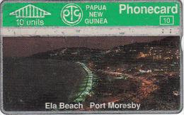 PAPUA NEW GUINEA - Ela Beach, Port Moresby(10 Units), CN : 311D, Used - Papua New Guinea