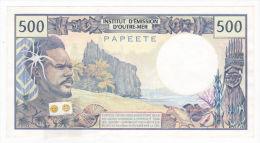 Polynésie Française - 500 FCFP - Mention PAPEETE Au Verso - X.3 / Roland-Billecart / Waitzenegger - UNC - Papeete (Polynésie Française 1914-1985)