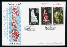 EGYPT / 1994 / POST DAY / AMENHOTEP III / QUEEN HATSHEPSUT / THUTMOSE III / FDC. - Égypte