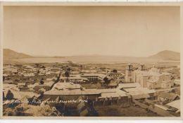CPA PEROU PERU AREQUIPA Vista General Photo MANCILLA Timbre Stamp 1929 Rare