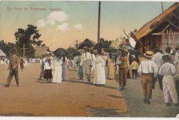 CPA PEROU PERU IQUITOS La Fiesta En Penchana Tinted 1910 - Peru