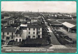 X - CPSM ITALIE - EMPOLI - PANORAMA E VEDUTA PARRIALE DEL CAMPO SPORTIVO - STADE DE FOOT - Empoli
