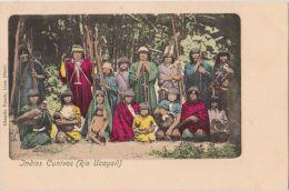 CPA PEROU PERU Ethnic Natives Indians Indios Cunivos Rio Ucayali Tinted 1904 - Peru