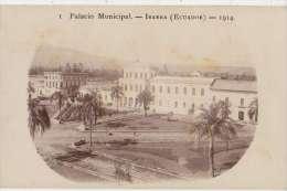 CPA PHOTO EQUATEUR ECUADOR IBARRA Palacio Municipal Rare - Ecuador