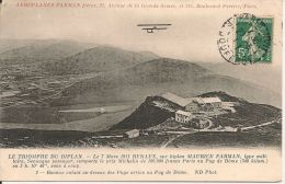 1911 LE  TRIOMPHE  DU  BIPLAN ;  AEROPLANE  FARMAN  Freres  ;RENAUX  SUR  BIPLAN    Animee  . . . - ....-1914: Précurseurs