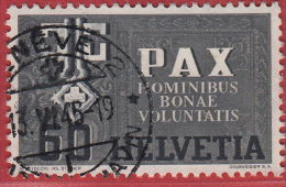 Zumst. N° 268, Mi.453. De La Série Pax 1945. Le 60 C. Propre, Bien Dentelé, Sans Défaut, Belle Oblitération - Usati