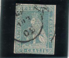 Toscana - 2 Crazie (annullato) - Sass. 13 - Toscana