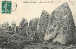 "CPA FRANCE 56 ""Carnac"" / DOLMEN / MEHNIR - Carnac"